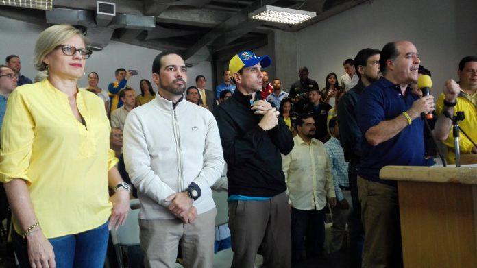 Capriles candidato presidencial primero justicia MUD primarias elecciones
