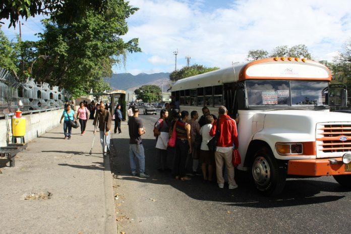 Transporte público.