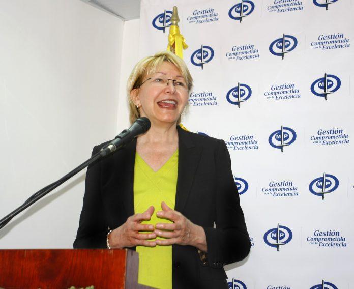 Luisa Ortega, Fiscal general del ministerio publico Venezolano.