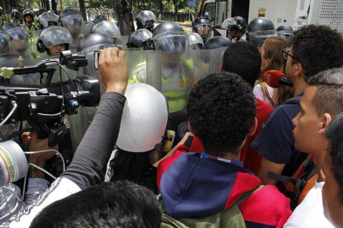 Estudiantes, represión