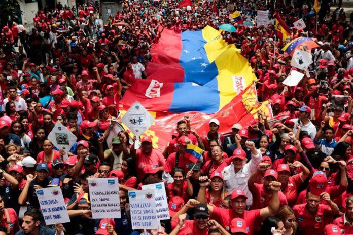 Oficialistas se movilizan este martes en apoyo a la Constituyente