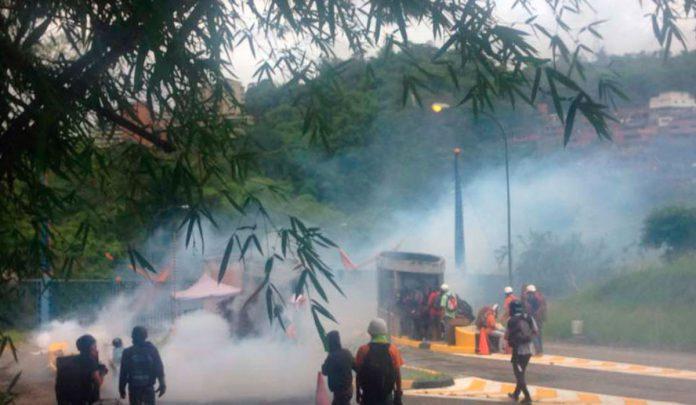 Tres heridos tras represión contra estudiantes en la Unimet
