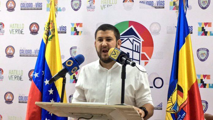 David Smolansky, alcalde de El Hatillo